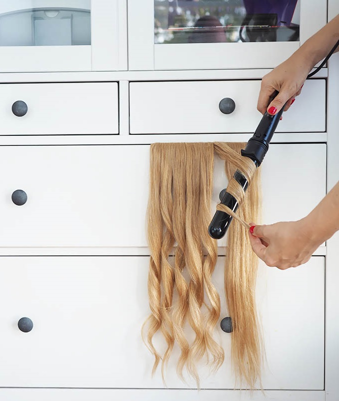 Hair goals - The fastest way to curl hair extensions