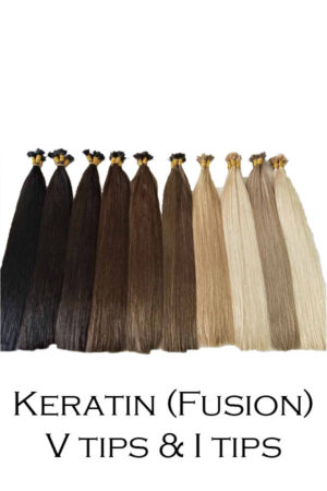 Keratin ( fusion ) v tips & i tips - Beaux Hair Extensions