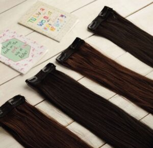 20 inch Black Side Patches - Beaux Hair | Side Patches for Volume